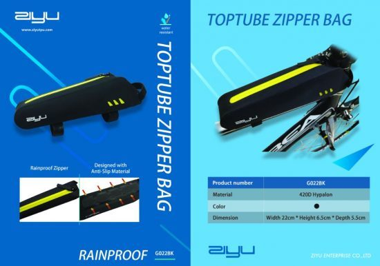 Toptube Zipper Bag