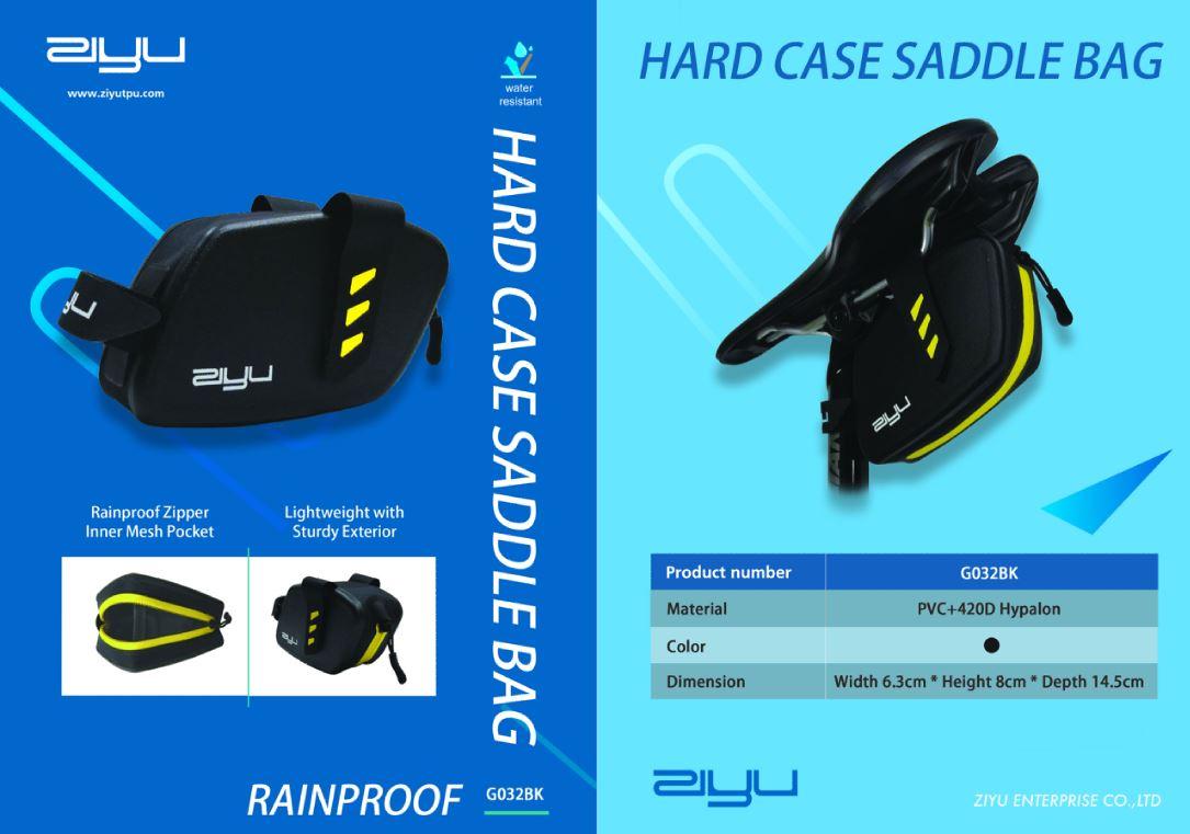 Ziyu Hard Case Saddle Bag
