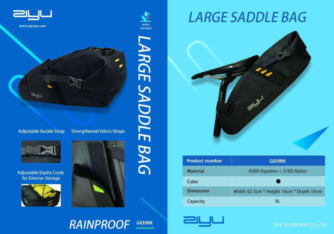 Ziyu Large Saddle Bag